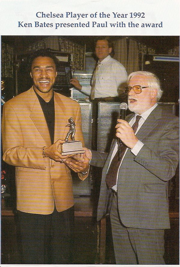 Ken Bates and Paul Elliott player of the year